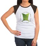 Live Green Think Green Women's Cap Sleeve T-Shirt