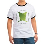 Live Green Think Green Ringer T