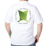 Live Green Think Green Golf Shirt