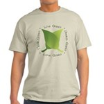 Live Green Think Green Light T-Shirt