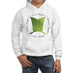 Live Green Think Green Hooded Sweatshirt