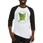 Live Green Think Green Baseball Jersey