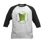Live Green Think Green Kids Baseball Jersey