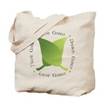 Live Green Think Green Tote Bag