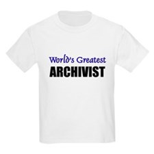 Worlds Greatest ARCHIVIST T-Shirt