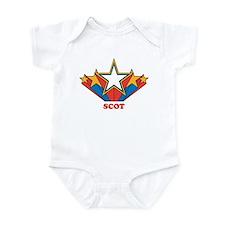 SCOT superstar Infant Bodysuit
