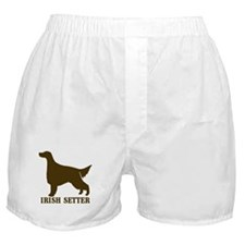 Irish Setter (brown) Boxer Shorts