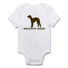 Bedlington Terrier (brown) Onesie