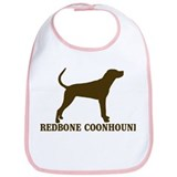 Redbone)Coonhound (brown) Bib