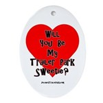 Jolene's Trailer Park Valentine (Oval)