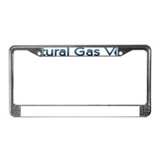 Cute Compressed natural gas License Plate Frame