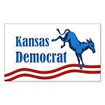 Kansas Democrat bumper sticker