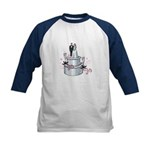 Wedding Cake Kids Baseball Jersey