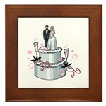 Wedding Cake Framed Tile
