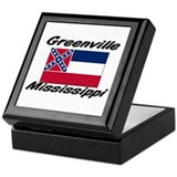 Greenville Mississippi Keepsake Box