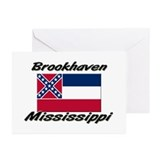 Brookhaven Mississippi Greeting Cards (Pk of 10)