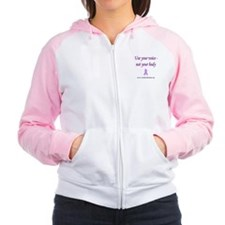 Voices - Not Bodies Women's Raglan Hoodie