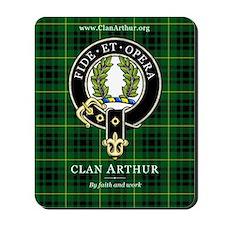 Clan Arthur Mousepad