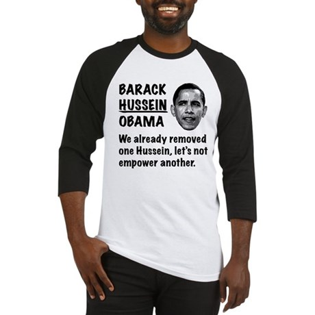 Barack Hussein Obama Baseball Jersey