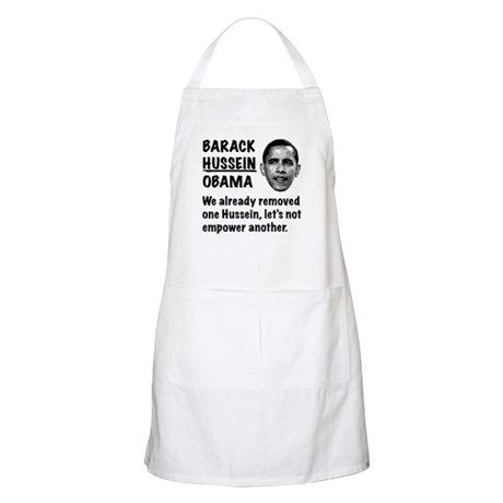 Barack Hussein Obama BBQ Apron