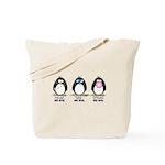 Hear no See no Speak No Evil Tote Bag