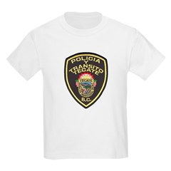Tecate Traffic Police Kids Light T-Shirt
