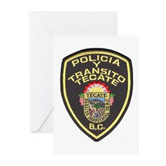 Tecate Traffic Police Greeting Cards (Pk of 10)