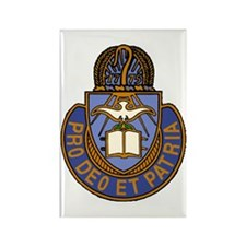 Chaplain Crest Rectangle Magnet