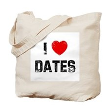 I * Dates Tote Bag