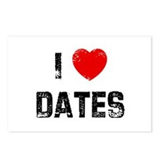 I * Dates Postcards (Package of 8)