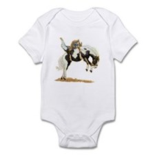 Bareback Bronc, Paint Infant Bodysuit