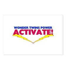 Wonder Twins Postcards (Package of 8)