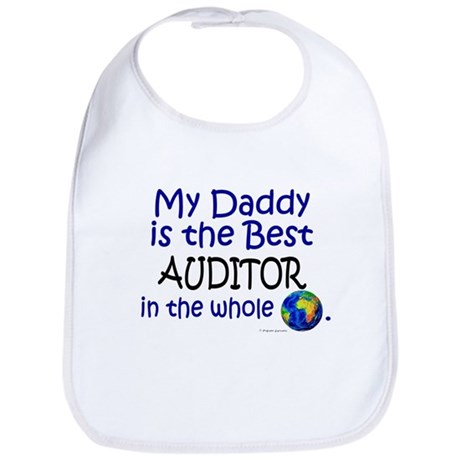 Best Auditor In The World (Daddy) Bib