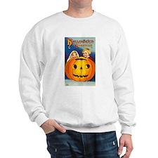Vintage Halloween Card 7 Sweatshirt