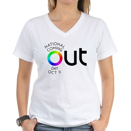 The Big OUT Women's V-Neck T-Shirt