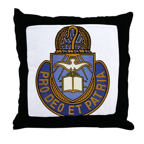 Chaplain Crest Throw Pillow