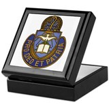 Chaplain Crest Keepsake Box