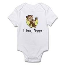 I Love Nana Infant Bodysuit