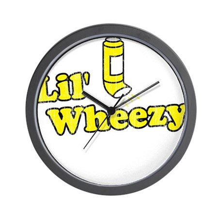 Lil' Wheezy Wall Clock