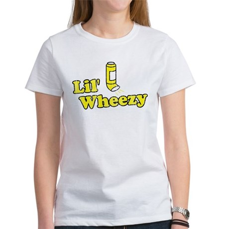 Lil' Wheezy Womens T-Shirt