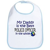 Best Police Officer In The World (Daddy) Bib