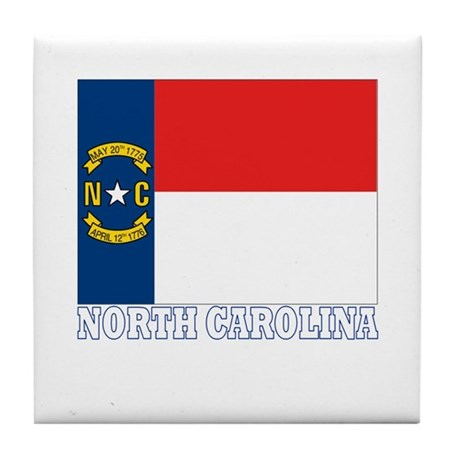 North Carolina Tile Coaster