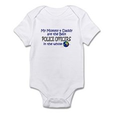 Best Police Officers In The World Infant Bodysuit