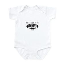 I'd Rather Be in Cleveland, O Infant Bodysuit