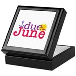 Due in June Keepsake Box
