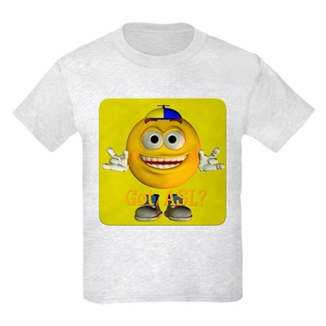 ASL Boy - Kids Light T-Shirt
