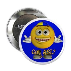 ASL Boy - Button