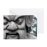 Thai Statue 2 Greeting Cards (Pk of 10)