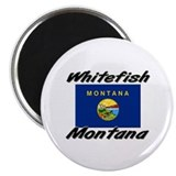 Whitefish Montana Magnet