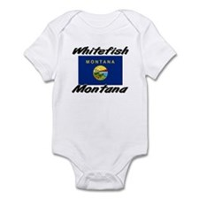 Whitefish Montana Infant Bodysuit
